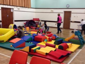 Hucclecote Playworld soft area